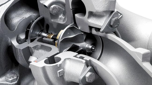 Turbina Auto sectiune - vedere high resolution