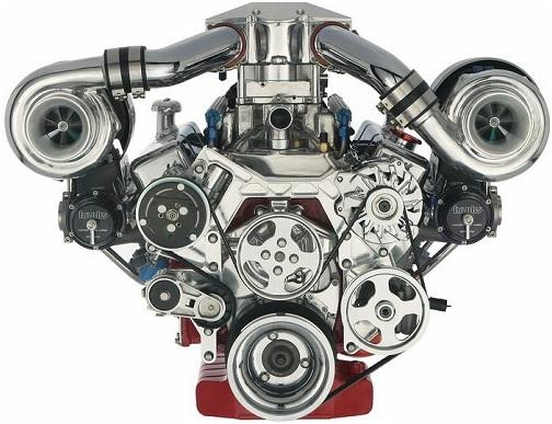 Motorul twin turbo